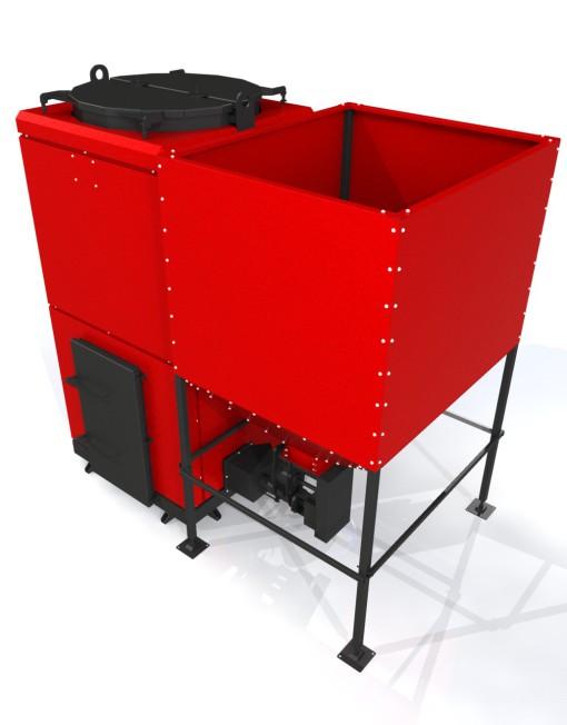 Пеллетный котел Roteks-200 эконом - 200 кВт