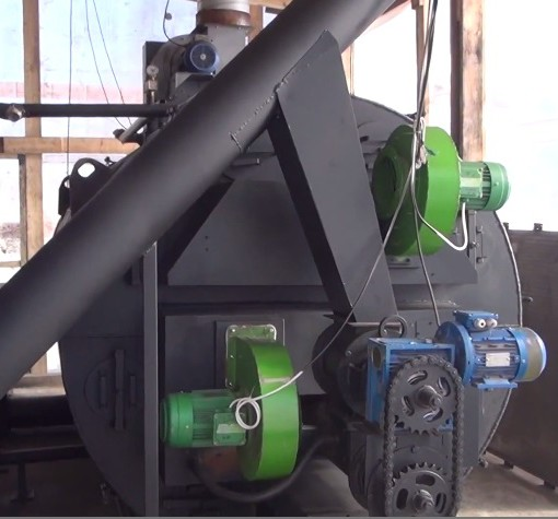 Пеллетный котел Roteks-500 люкс - 500 кВт