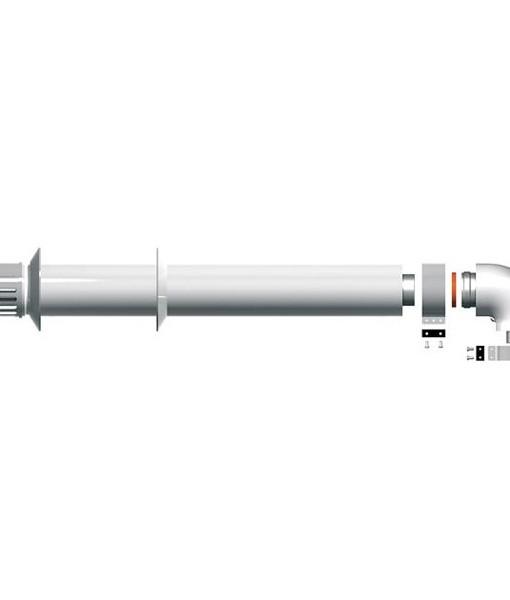 Коаксиальный дымоход S5D-1000 набор осевой Protherm